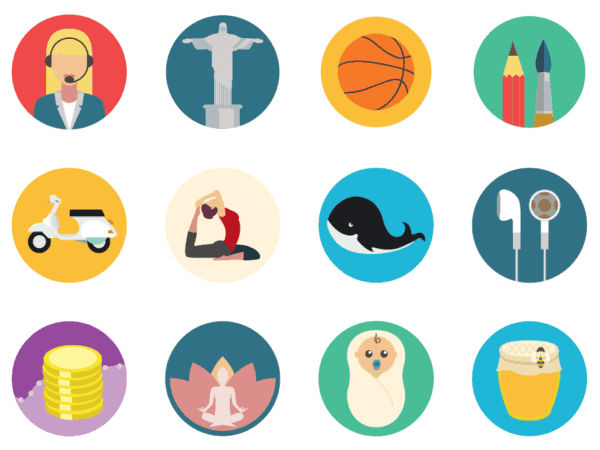 flat icons pack 1