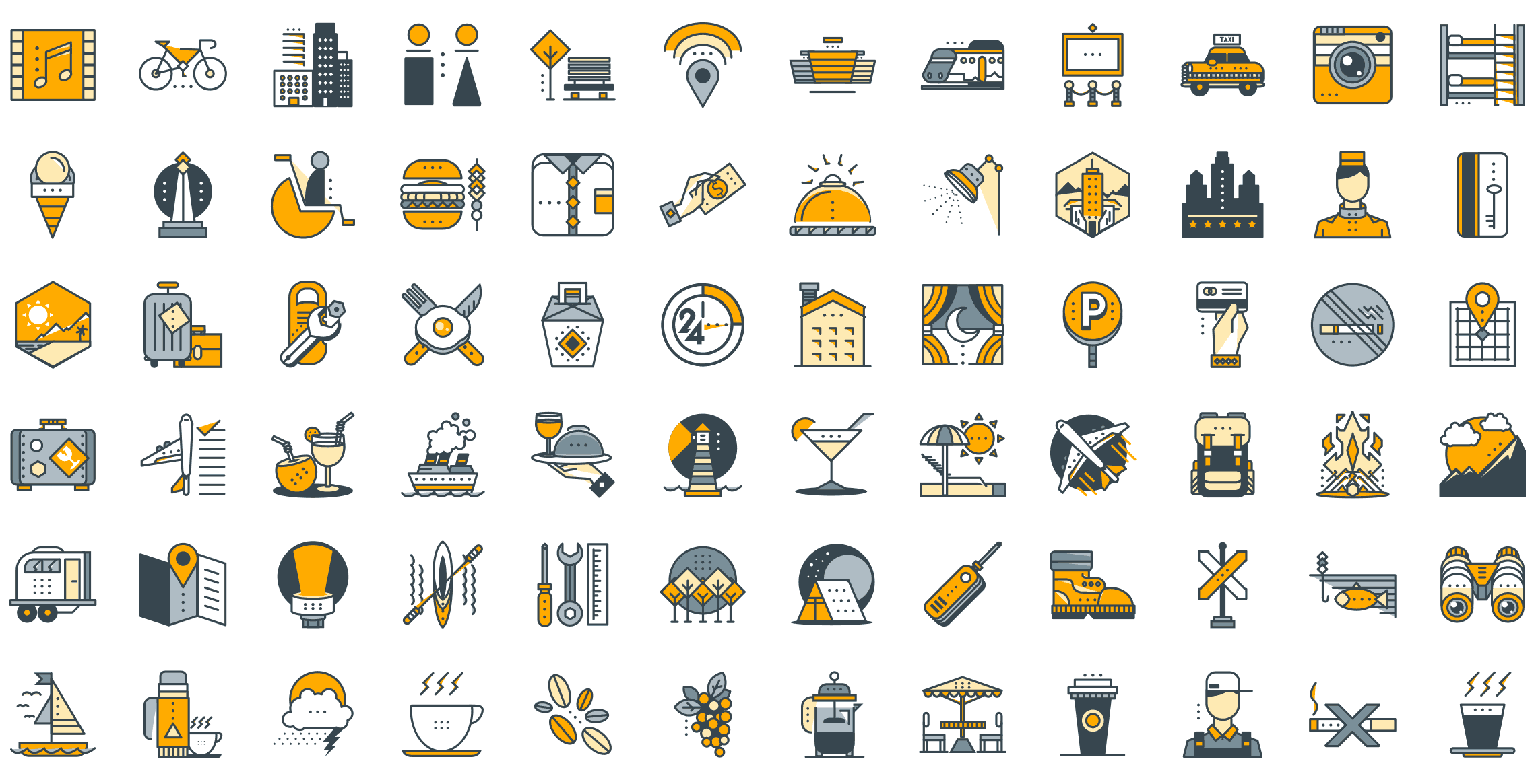 holiday-funline-icons-preview