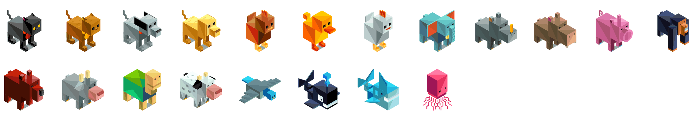 animal-isometric-icons-preview