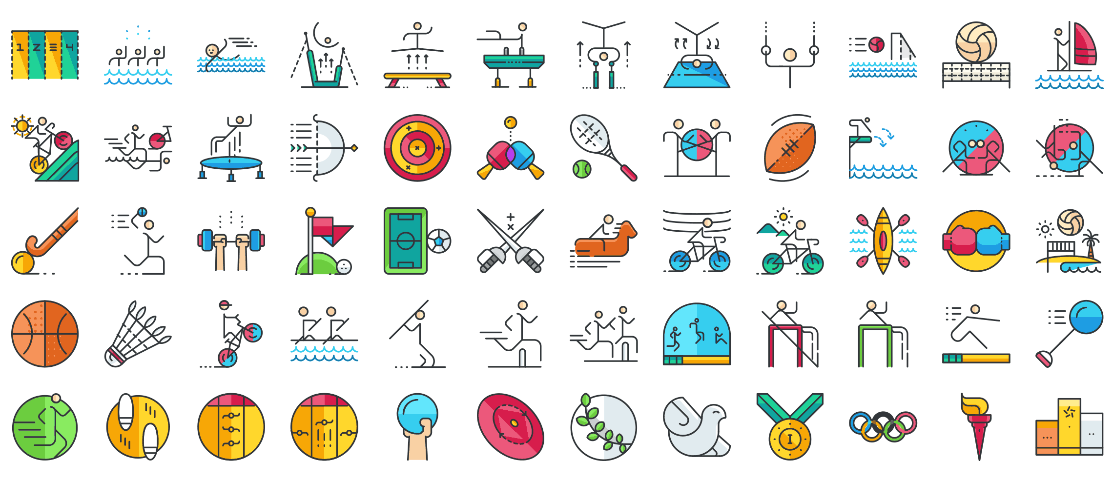 Sports-outline-icons