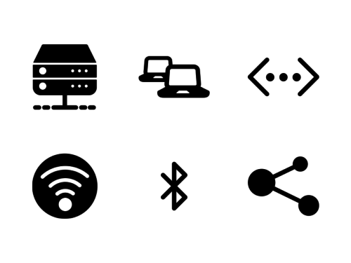 Network-and-sharing-glyph-icons
