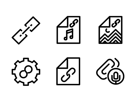 attachment-line-icons