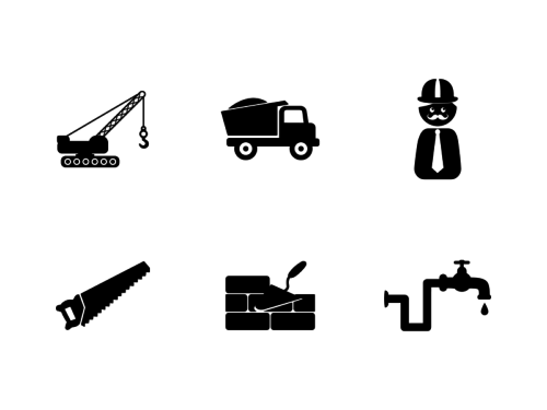 construction-glyph-icons