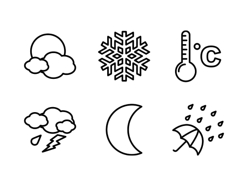 weather-line-icons