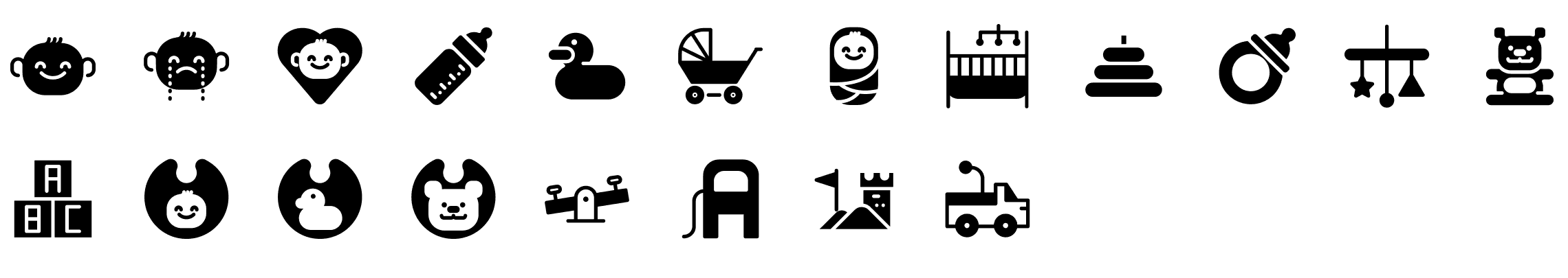 baby-glyph-icons-preview