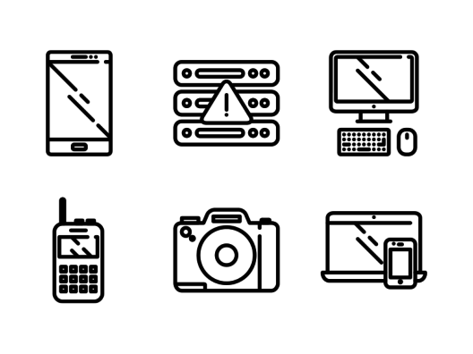 devices responsive icons
