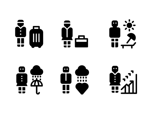 people-glyph-icons