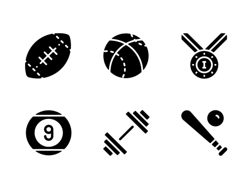 sports-glyph-icons