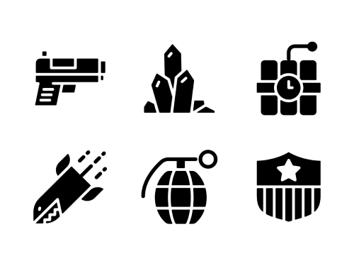 sub-categories-glyph-icons