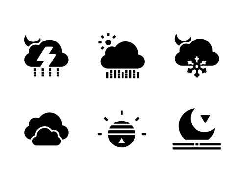 weather-glyph-icons