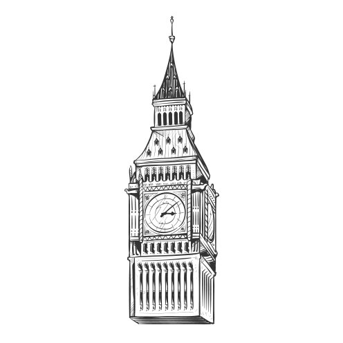 Vector-Illustration-world-monument-big-ben